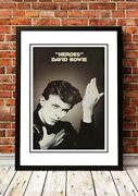 David Bowie | British Rock Band Concert Tour Posters | 19 To Choose From.