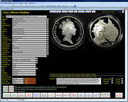 Coin Collector Image Database Software Pro Suit All Coins Cdrom For Windows