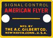 Signal Control Button Adhesive Sticker Early For American Flyer Trains Parts