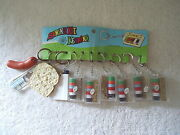 Vintage Store Display Sewing Kit Keyring Display With Some Kits And Other Items