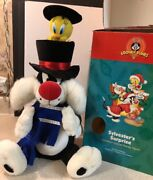 Rare Telco Animated Tweety Sylvester's Surprise Motionette Looney Tunes Musical