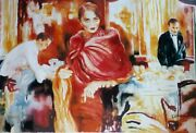 Joanna Zjawinska Ask Me Would I Say Yes 1990 Hand Signed 1/250 Xxl 34x 54
