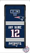 New England Patriots 2018 Jersey Customize Phone Case Cover For Iphone Samsung