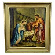 Unknown - Mary And Joseph In The Barn Of Bethlehem
