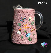 Mosaic Pitcher Handmade And Glass Tiles Look Nice On Your Kitchen Pl102