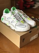 Kith X Adidas Fyw S-97 Ronnie Fieg White/neon Size 12- 100 Authentic In Hand