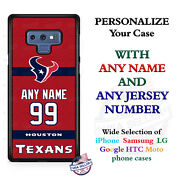 Houston Texans 2018 Jersey Custom Phone Case Cover For Iphone Samsung Etc