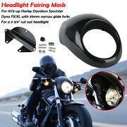 5-3/4and039and039headlight Fairing Cowl Fork Mount For Harley Sportster Dyna Fx/xl W/ 39mm