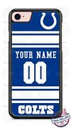 Indianapolis Colts Jersey Phone Case With Nameand Fits Iphone Samsung Lg Etc
