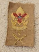 1916-25 Boy Scout First Class Scribe Combination Rank Position Badge