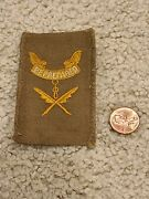 1916-25 Boy Scout Second Class Scribe Combination Rank Position Badge