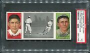 1912 T202 Hassan Clarke Hikes For Home - Kling And Bridwell Psa 7 25311485