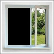 36 X 24 Ft Roll Black Film Privacy For Office,bath,glass Door,stores,schools