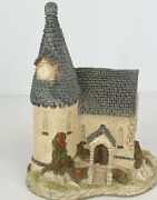 David Winter The Chapel Ceramic Christmas Holiday Decoration Collectible 6 Tall