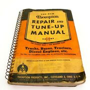 1941-1950 Thompson Automatic Transmission Repair And Tune-up Manual Auto Shop C44