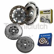 Luk 2 Part Clutch Kit And Sachs Dmf For Ford Fiesta V Box 1.4 Tdci