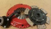 For Opel Astra G 2.0 Opc And 2.0 Turbo Heavy Duty 6 Paddle Clutch With Csc