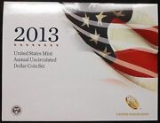 2013 United States Mint Annual Uncirculated Dollar Coin Set Free Shipping