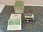 Vintage Pflueger Akron No.1893 Fishing Reel Great Collectible Item