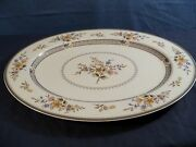Large Mikasa Chippendale Oval Platter - 15 Long Item 338