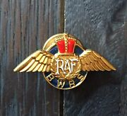 Vintage Wwii Raf Royal Air Force Aviation Pilot Wings Pin Bwrs Accessocraft