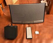 Bose Sounddock Portable Digital Music System N123 Ipod Dock 30 Pin Connector