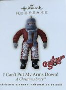 2007 Hallmark Collectible Ornament A Christmas Story I Canand039t Put My Arms Down