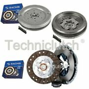 Sachs 3 Part Clutch Kit And Sachs Dmf For Vw Caddy Estate 1.9 Tdi
