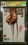 Wolverine Origins 10 Cgc Ss 8.0 Stan Lee Signed With Stan Lee Label Rare