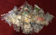 Estate Junk Drawer Jewelry Lot Bagged And Priced Resale Over 1300 In Merch