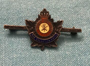 The Salvation Army Blood And Fire Enamel Pin Sterling Silver Enamel 1.5inx.5