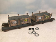O Scale Load For Lionel K-line Rail King Williams 6462 Gondola And Flat Cars