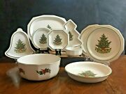Pfaltzgraff Christmas Heritage Plates Bowls Serving Dishes Sold By Piece