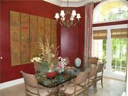 Custom Dining Room Table - Chairs Rattan Glass And Wood Dining Table 100 X 40