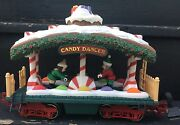 New Bright Holiday Express Train 387 Candy Dancer Passenger Car Tested-works