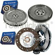Sachs 3 Part Clutch Kit And Sachs Dmf For Audi A3 Convertible 1.9 Tdi