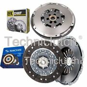 Sachs 2 Part Clutch Kit And Luk Dmf For Audi A3 Hatchback S3