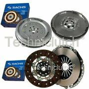 Sachs 2 Part Clutch Kit And Sachs Dmf For Vw Caddy Estate 1.9 Tdi 4motion