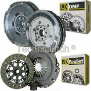 Luk 3 Part Clutch Kit And Luk Dmf For Bmw 3 Series Saloon 323i 2.5