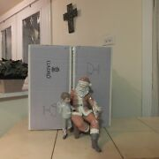 Lladro A Special Gift 5971 New In Box Santa Claus W/ Boy Mint Fast Shipping