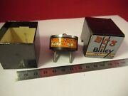 Vintage 1940's Quartz Crystal Bliley Bc3 Frequency 1867 Kc +box And9-a-56