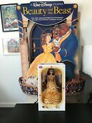 Disney 17 Belle Limited Edition Beauty And The Beast Doll Nib Yellow Dress 5000