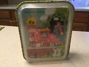 Vintage Chein Musical Moving Storybook Express Toy The Little Red Engine