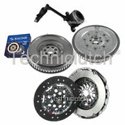 Nationwide 2 Part Clutch And Sachs Dmf With Csc For Renault Scenic Mpv 1.9 Dci