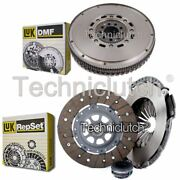 Luk 3 Part Clutch Kit And Luk Dmf For Audi 80 Saloon 2.6 Quattro