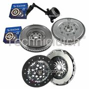 2 Part Clutch Kit And Sachs Dmf With Sachs Csc For Renault Scenic Mpv 1.9 Dci