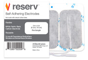 Reserv 2 X 4 Fda/otc Approved Reusable Self Adhesive Electrode For Tens/ems