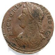 1787 33.36-t.2 R-2 Pcgs Xf 45 Draped Bust Left Connecticut Colonial Copper Coin