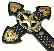 Dallas Police Dept Officer Cross Le Badge New 14x8 3/4 Inch Wall Hanging
