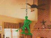 Toy Story Green Army Men Ceiling Fan Pull Light Lamp Chain Decoration K1293 G